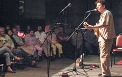 Tim O'Brien performs at The Bottling Works